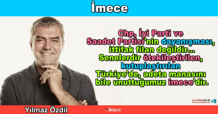 Imece - Yilmaz Ozdil