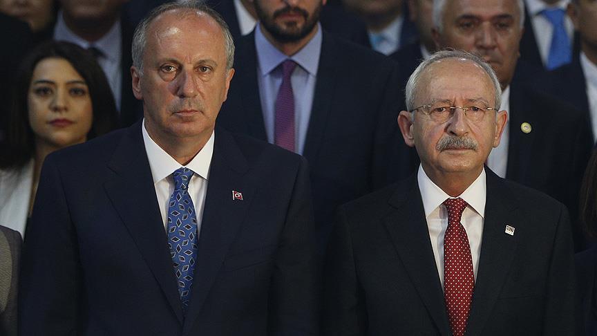 Muharrem İnce Kemal Kılıçdaroğlu görüşmesinin detayları