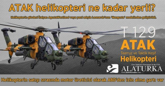 ATAK Helikopteri Ne kadar Yerli