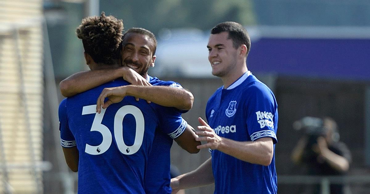 Cenk Tosun'dan 4 Gol, Everton 22 – 0 Irdning Maç Özeti