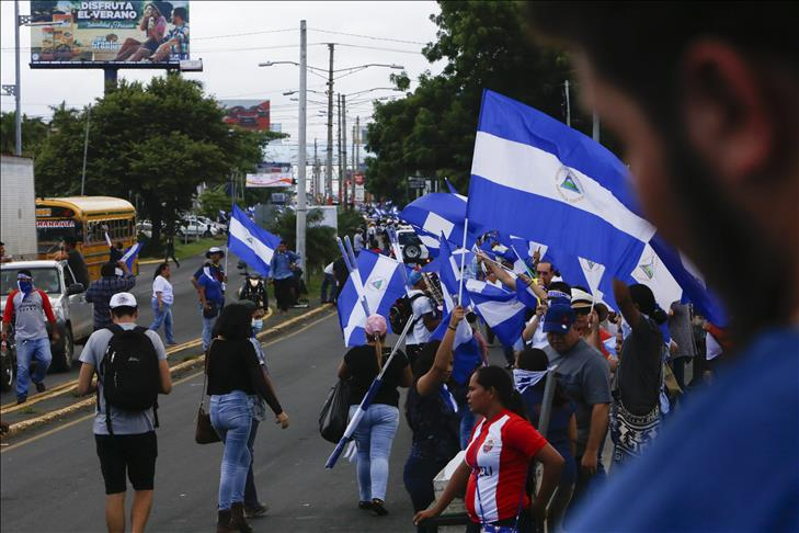 International pressure mounts on Nicaraguan president