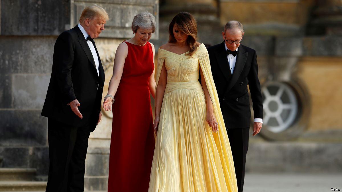 Trump Hayranı Olduğu Churchill'in Doğum Yerinde Ağırlanıyor