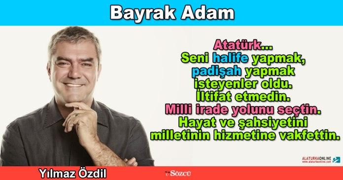 Bayrak Adam - Yilmaz Ozdil