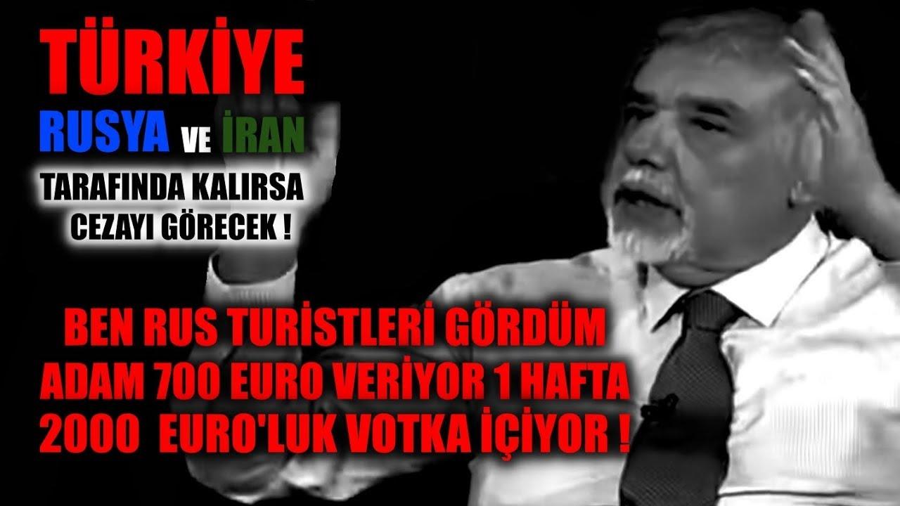 Atilla Yeşilada: Türkiye Rusya ve İran Tarafında Kalırsa Cezayı Görecek !