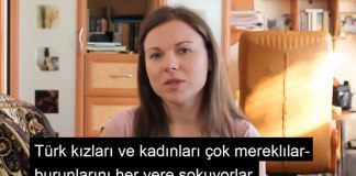 Rus Kadinlarinin Gozunden Turk Kadinlari - Kavga Cikarir