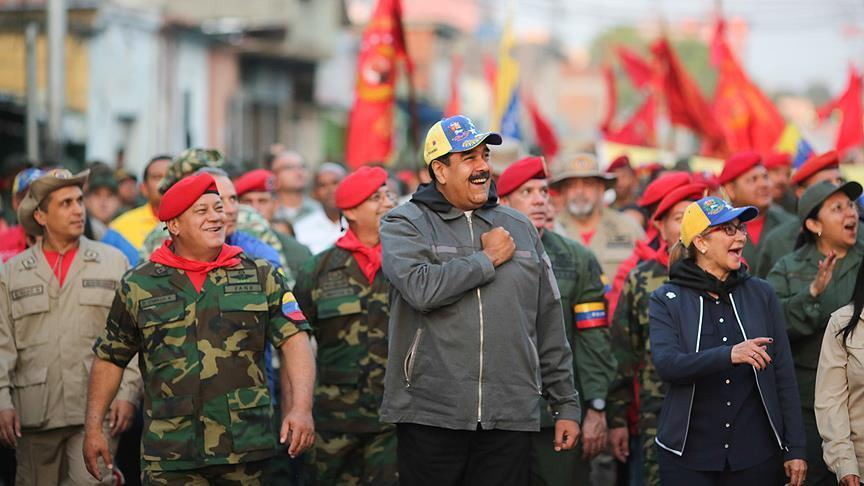 Maduro vows to defend Venezuela with his life