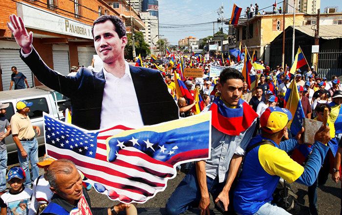 ABD'nin Venezüella yaptırımlarına Guaido'dan destek