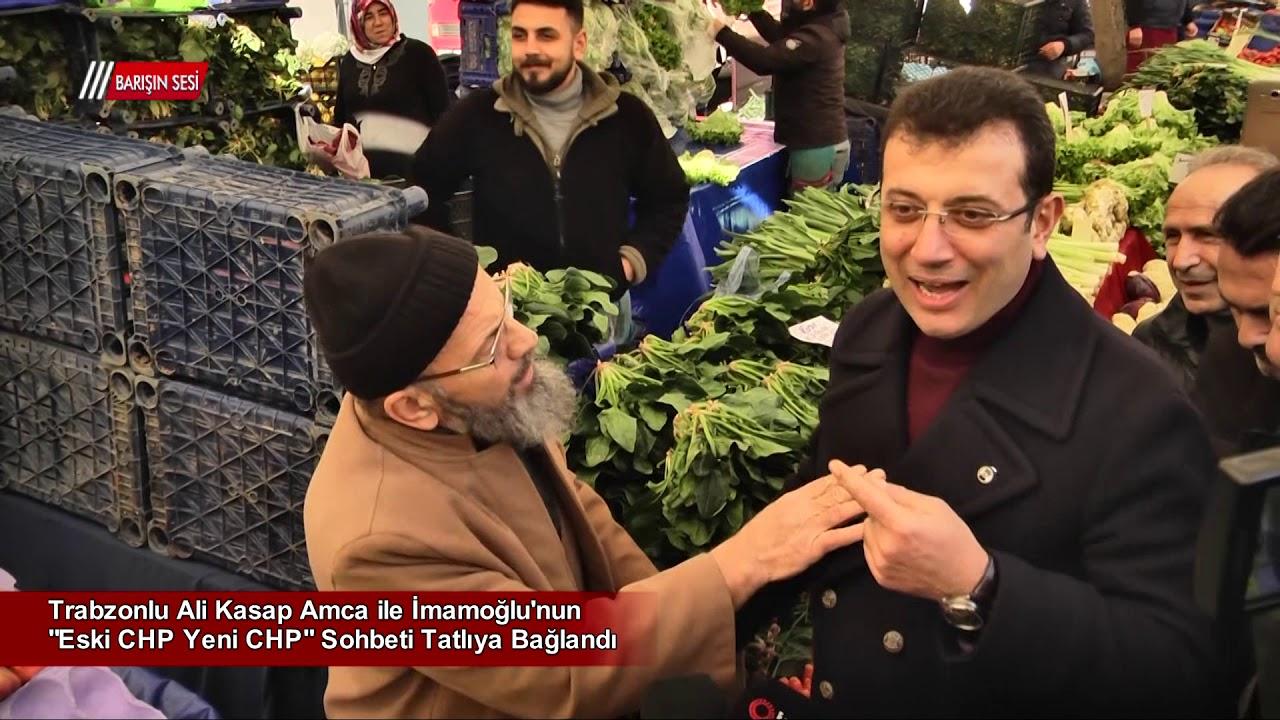 İki Trabzonlunun Pazardaki Sohbetinde Renkli Anlar Yaşandı