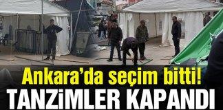 Ankara Secimler Bitti Tanzim Kapandi