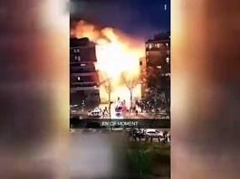 Paris Siddetli Patlama