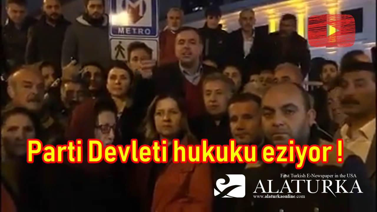 Parti Devleti hukuku eziyor ! YSK'nın yazılı talimatı bile, iktidar baskısı karşısında hiçbir anlam ifade etmiyor !