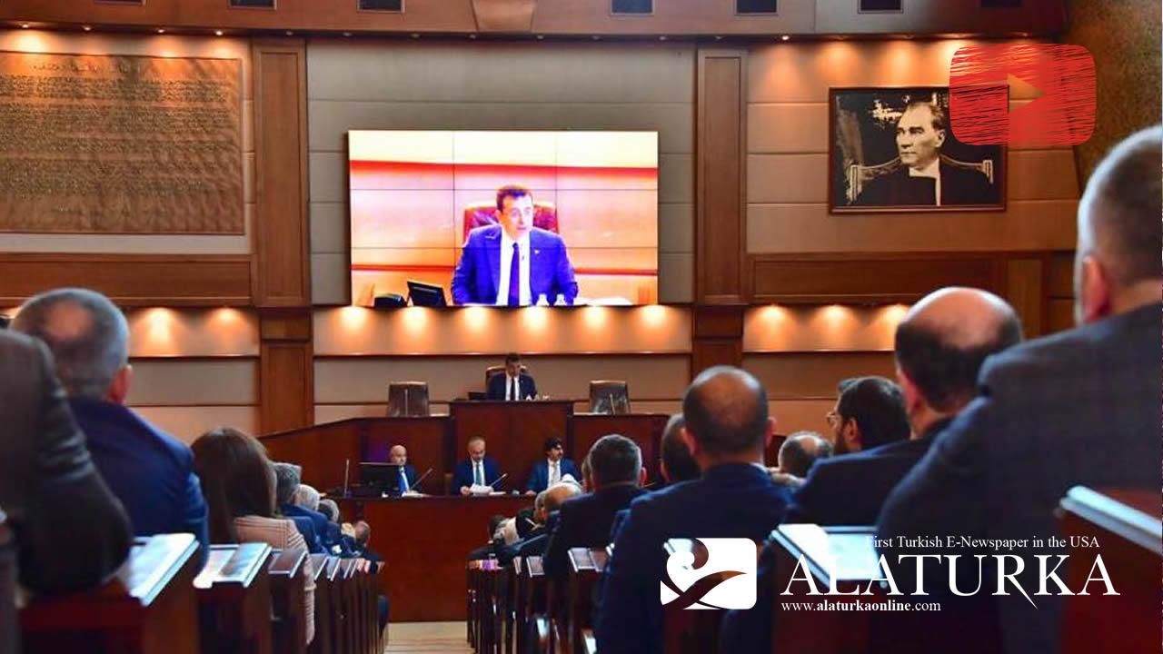 Ekrem İmamoğlu'nun yönetiminde ilk İBB Meclis Toplantısı