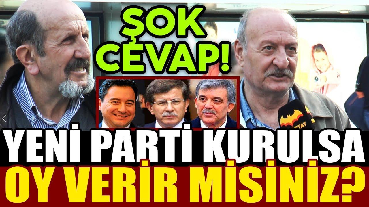 AKP Bölünüyor! Yeni Bir Parti Kurulsa Oy Verir Misiniz? Abdullah Gül – Ali Babacan – Ahmet Davutoğlu