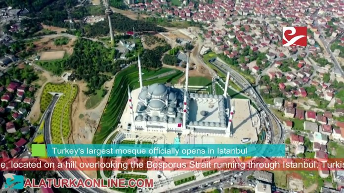 Turkey Largest Mosque Camlica