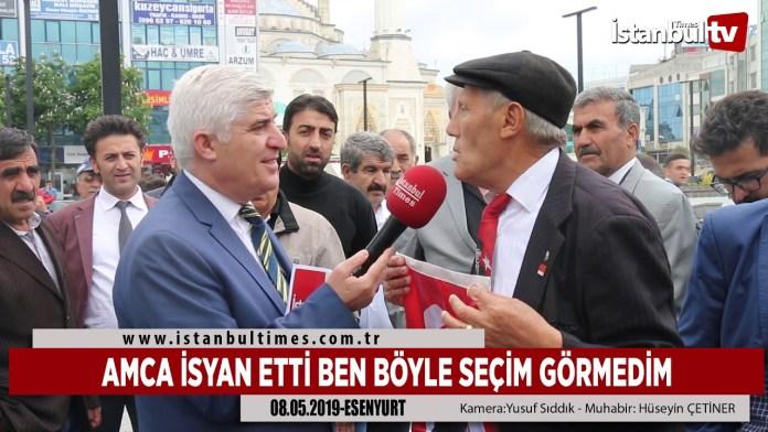 Amca Isyan Etti Boyle Secim Gormedim