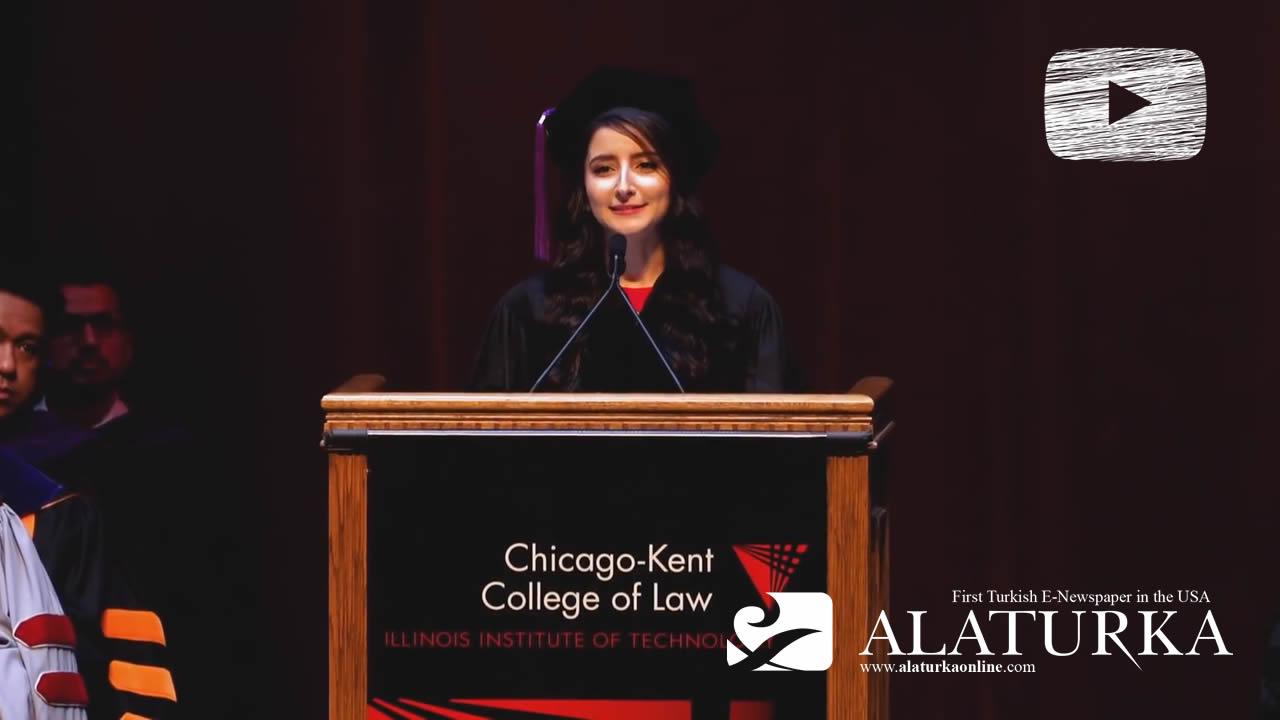 Genç Hukukçu Betül Serbest'in Amerika'daki Büyük Başarısı