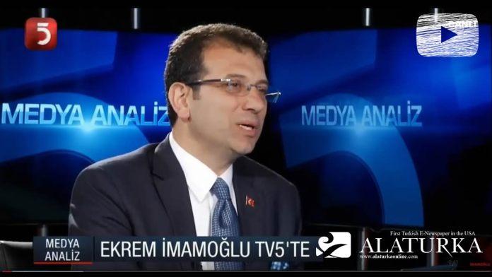 Ekrem Imamoglu TV5 Medya analiz