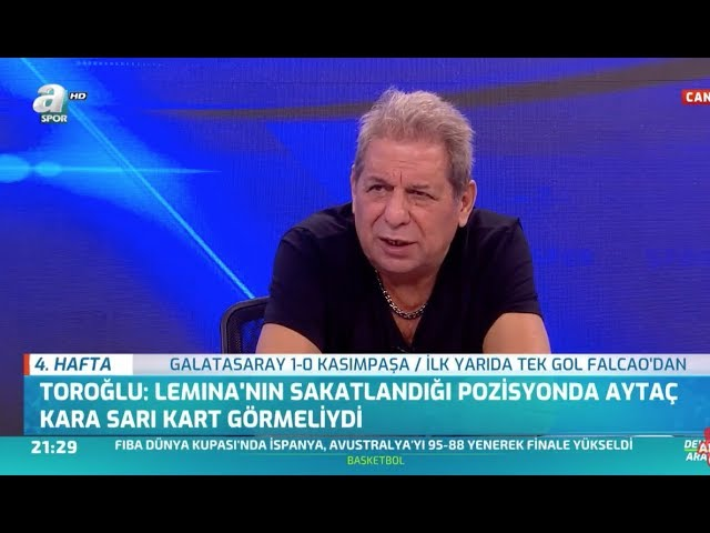 Galatasaray 1 – 0 Kasımpaşa Erman Toroğlu Maç Sonu Yorumları