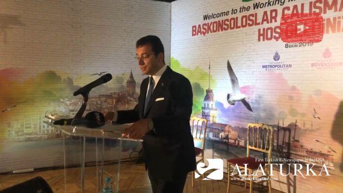 Ekrem İmamoğlu İstanbul'da görev yapan diplomatik misyon temsilcileriyle bir araya geldi
