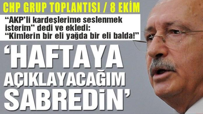 Kılıçdaroğlu'ndan gündemi sallayacak açıklama!