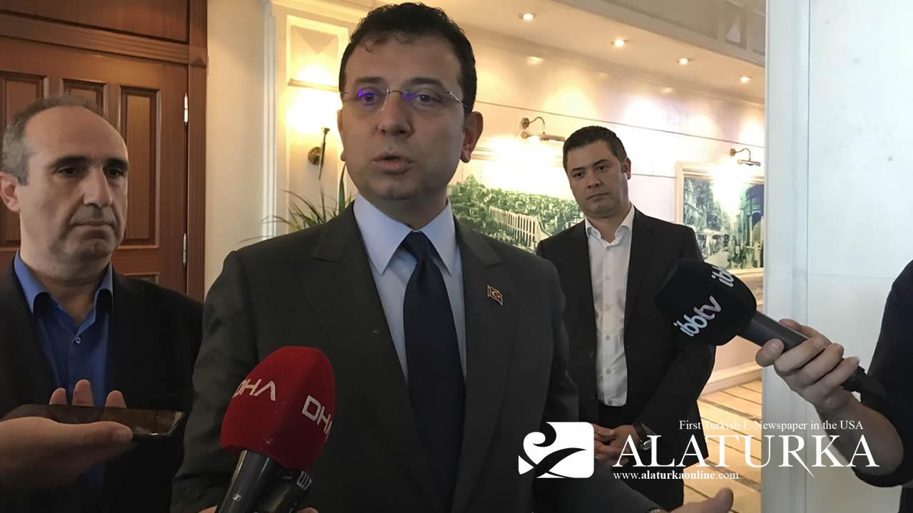 Ekrem İmamoğlu AKP ve MHP'nin Ucuz Kahramanlığına Tepki Gösterdi !