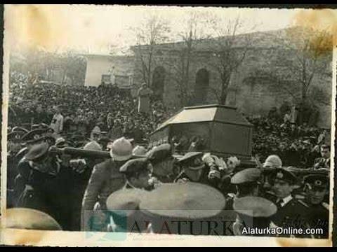 Atatürk'ün cenaze töreninden bilinmeyen fotoğraflar