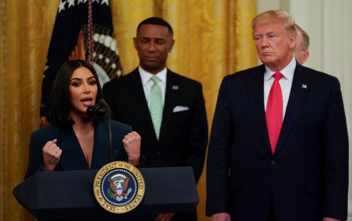 Kardashian, Trump ile görüşmesinin ardından bikinili fotoğraflardan vazgeçti: 'Evrim geçiriyorum'