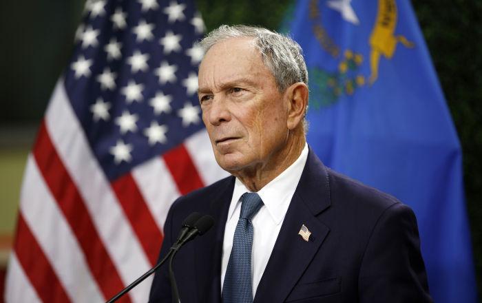 Trump'ın milyarder rakibi Bloomberg ilk adımını attı