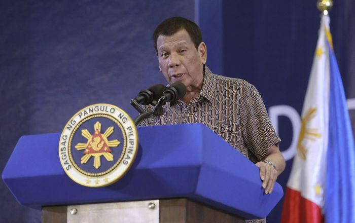 Duterte, eski Emniyet Müdürü'nün vizesini iptal eden ABD'yi tehdit etti