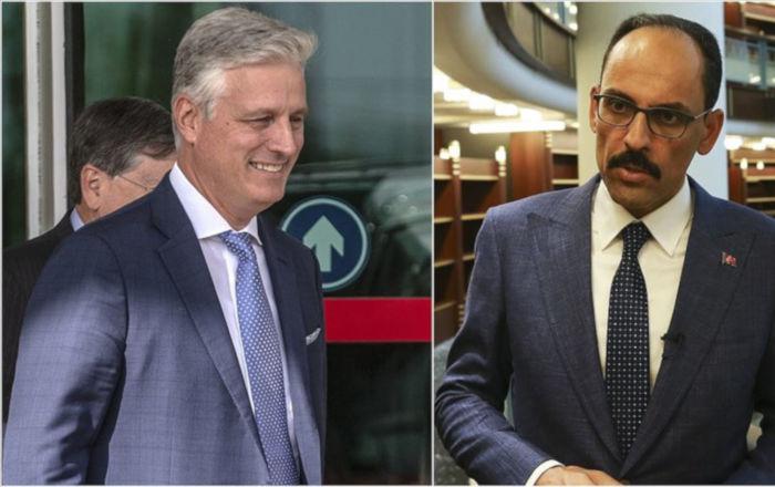 İbrahim Kalın Büyükelçi O'Brien ile görüştü: Gündem Suriye ve Libya'da güvenlik