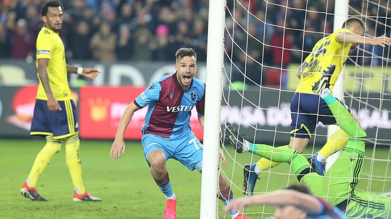 Trabzonspor 2 – Fenerbahçe 1 Maç Özeti İzle