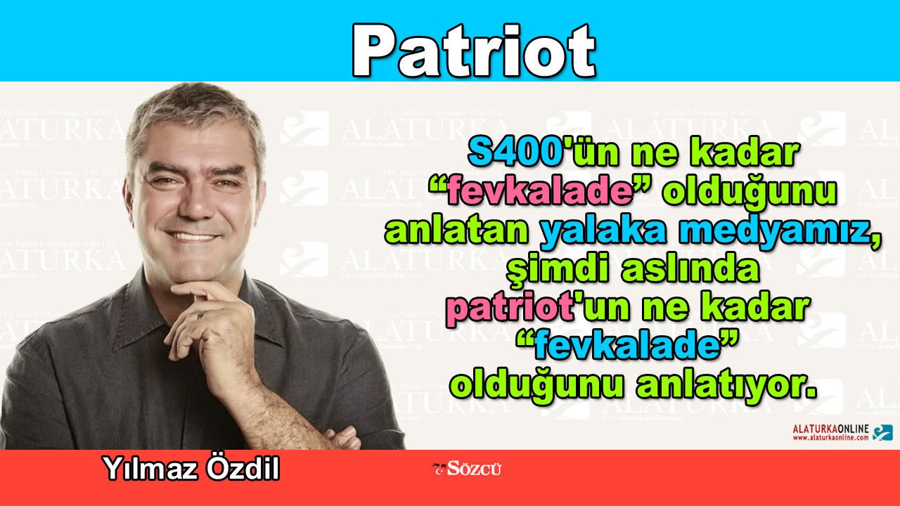 Patriot – Yılmaz Özdil