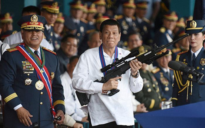 ABD ile askeri anlaşmayı sonlandıran Filipinler Devlet Başkanı Duterte: ABD olmadan da ayakta kalabiliriz