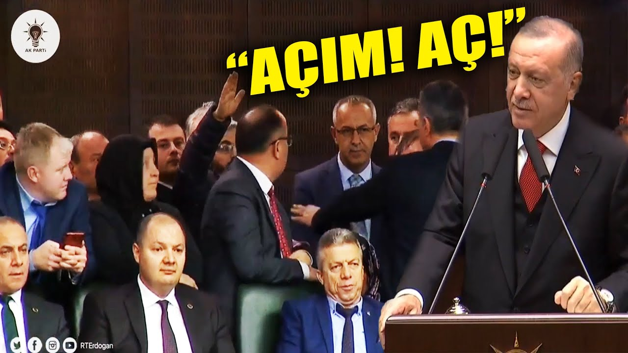 """Erdoğan'a """"Açım!"""" Diye Bağıran Adam"""