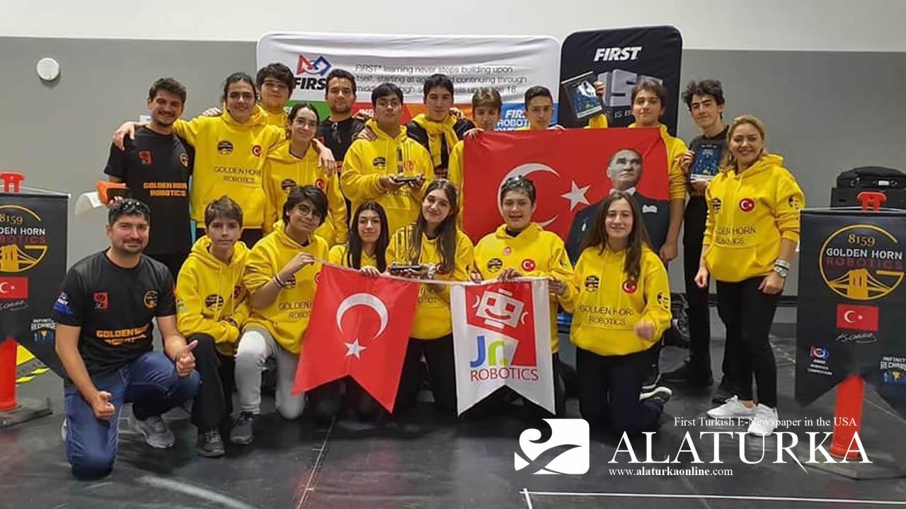 Türk Robotik Takımına Los Angeles'ta 2 Ödül