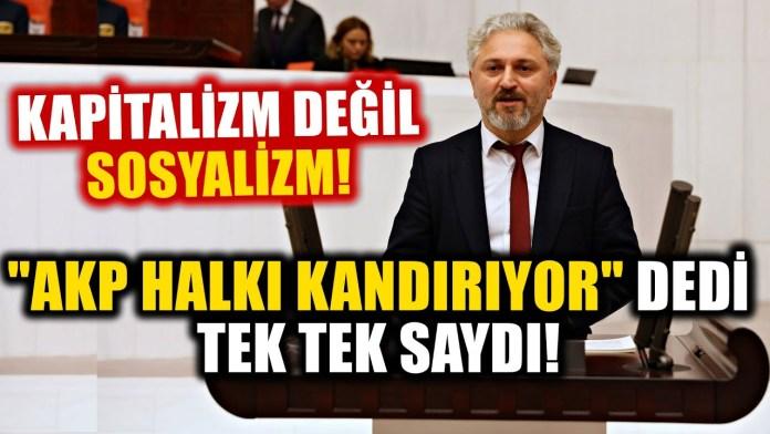 """""""Akp İktidarı Halkı Kandırıyor"""" Dedi... Tek Tek Saydı! Murat Çepni'den Tarihi Konuşma!"""