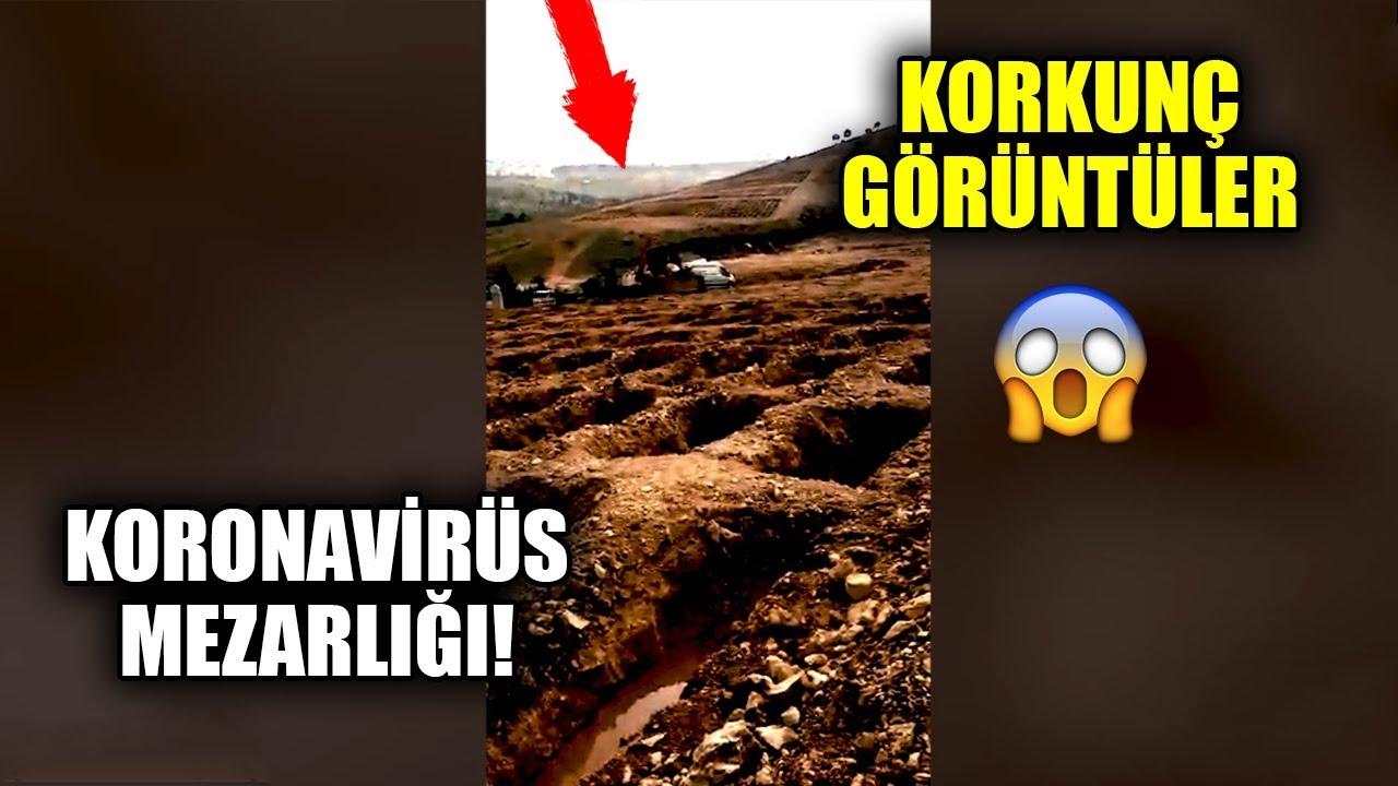 """""""Kaynanam Öldü AKP Rezil Olsun"""" Dedi Koronavirüs Mezarlığını Çekti"""