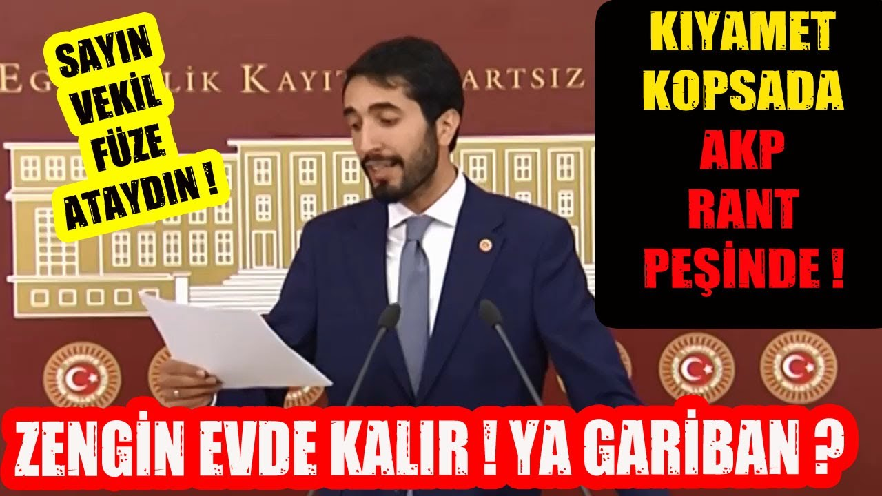 Sayın Vekil Füze Ataydın ! Sansürlenen AKP Gerçeğini İfşa Etti !