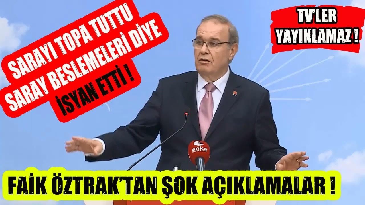 Bu Açıklamayı TV'ler Vermez ! Faik Öztrak Erdoğan Ve Saraya İSYAN Etti !