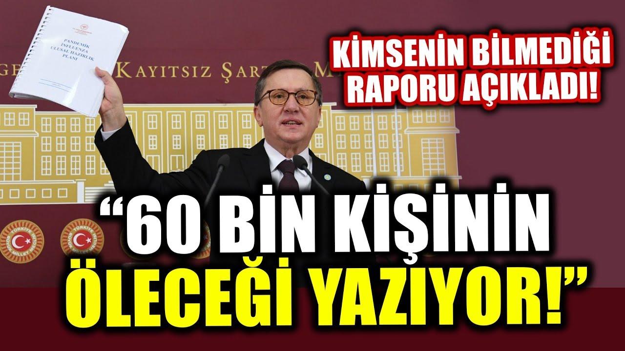 Bu Rapor Çok Konuşulacak! İYİ Partili Lütfü Türkkan Açıkladı!