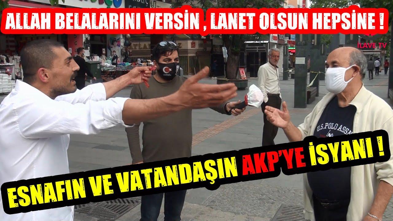 Esnafın Ve Vatandaşın AKP'ye İsyanı ! 200 Milyarlık Yardım Paketinden Yardım Alabildiniz Mi ?
