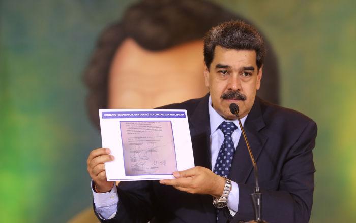 Maduro'dan Trump'a çağrı: Bizi devirecek gücünüz olmadığı, Guaido reziliyle darbe girişiminin fiyasko olduğunu kabul et