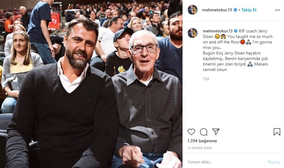 NBA ve Utah Jazz efsanesi Jerry Sloan hayatını kaybetti