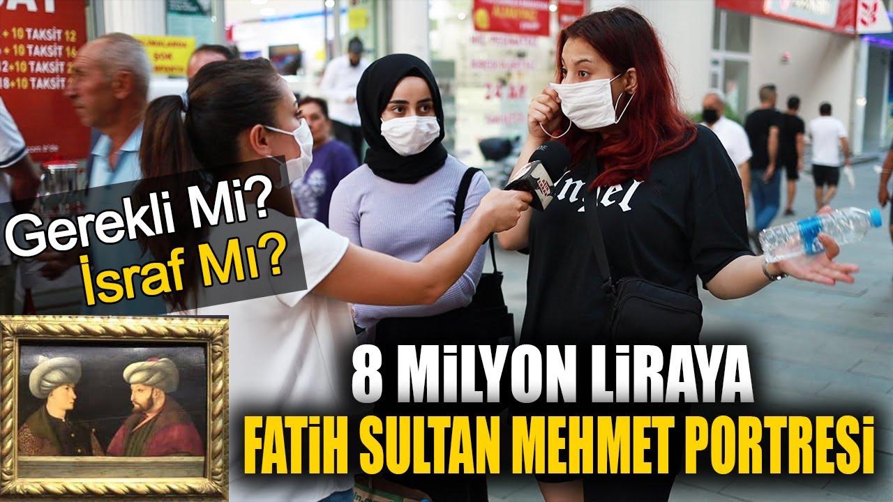 İBB 8 Milyon Liraya Fatih'in Portresini Aldı! Halk Buna Ne Diyor?