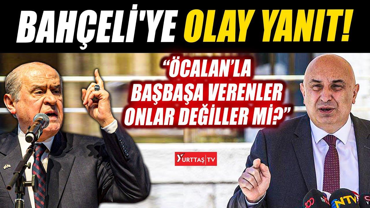 Engin Özkoç'tan Devlet Bahçeli'ye olay yanıt!