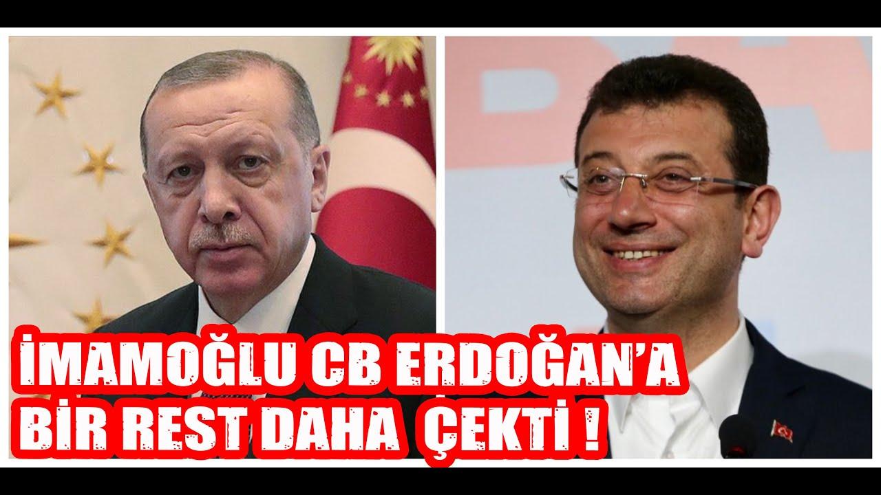 İmamoğlu CB Erdoğan'a Bir Rest Daha Çekti !