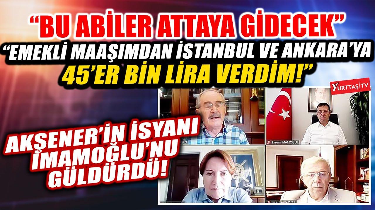 Meral Akşener'in isyanı Ekrem İmamoğlu'nu güldürdü: Bu abiler attaya gidecek!