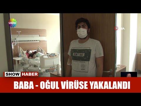 Baba – oğul virüse yakalandı
