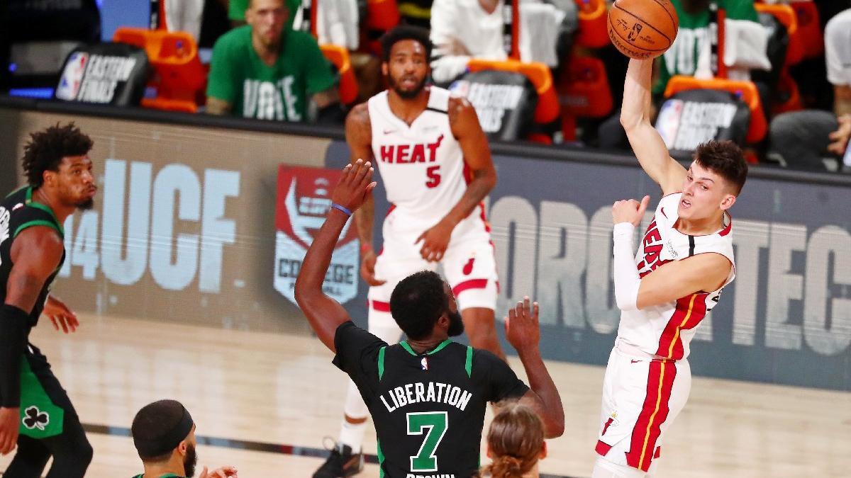 Miami Heat'ten final için bir adım daha! Boston soyunma odasında olay!