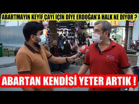 Abartmayın O Kadar Alın Keyif Çayı İçin Diyen CB Erdoğan'a Halk Ne Diyor ?